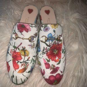 Gucci Floral print Slipper